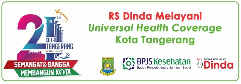 RS Dinda melayani Universal Health Coverage Kota Tangerang