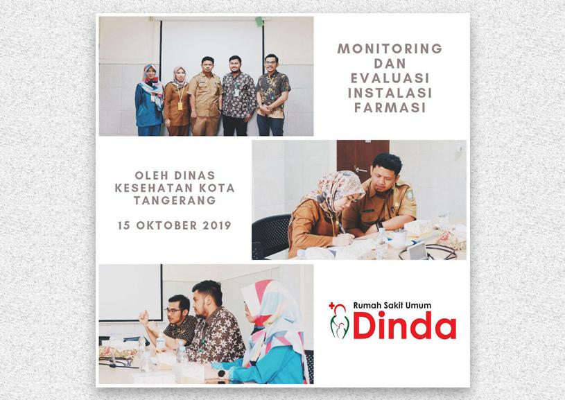 Monitoring dan Evaluasi Instalasi Farmasi Rumah Sakit Dinda