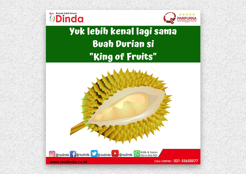"""DURIAN """"KING OF FRUITS"""""""