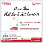 DRIVE THRU PCR SWAB TEST COVID-19