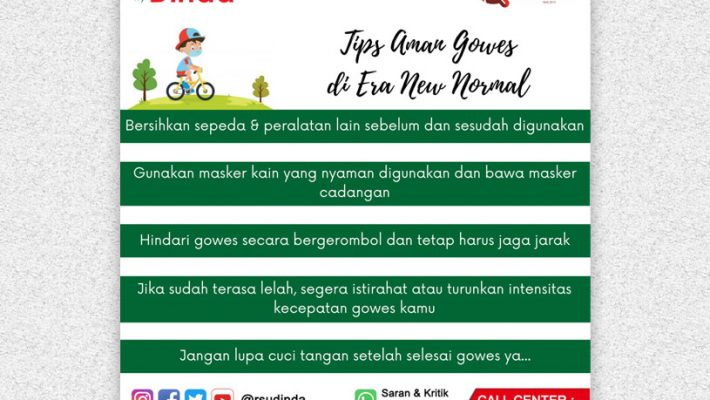 TIPS AMAN GOWES ERA NEW NORMAL