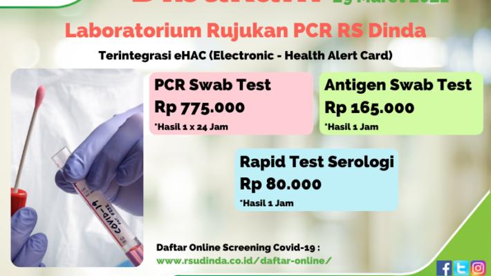 Laboratorium Rujukan PCR RS Dinda