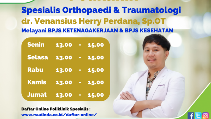 Poliklinik Spesialis Orthopaedi & Traumatologi Rumah Sakit Dinda