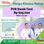 PCR Swab Test Khusus Nakes