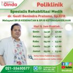 Poliklinik Rehabilitasi Medik Rumah Sakit Dinda