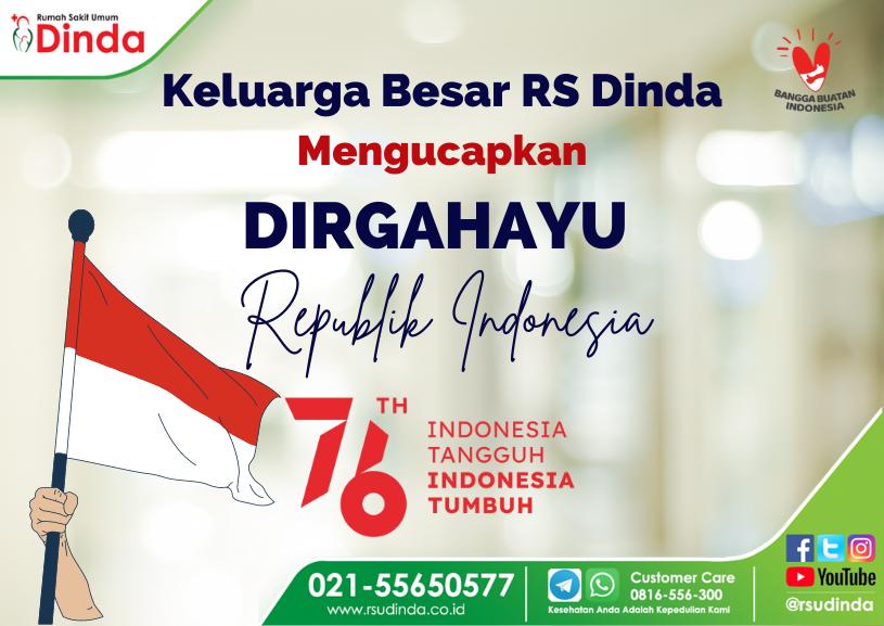 Dirgahayu Republik Indonesia yang ke-76TH