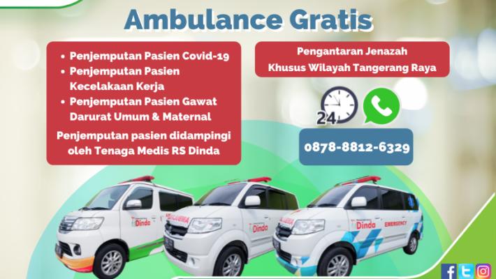 Layanan Ambulance Gratis RS Dinda