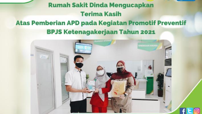 Kegiatan Promotif Preventif BPJS Ketenagakerjaan 2021 Kepada RS Dinda