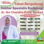 Telah Bergabung dr. Ike Chandra Putri, Sp.Rad di RS Dinda