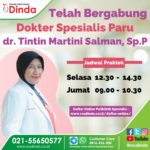 Telah Bergabung dr. Tintin Martini Salman, Sp.P di RS Dinda